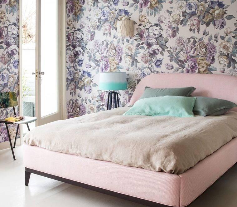 dormitorios colores primaverales