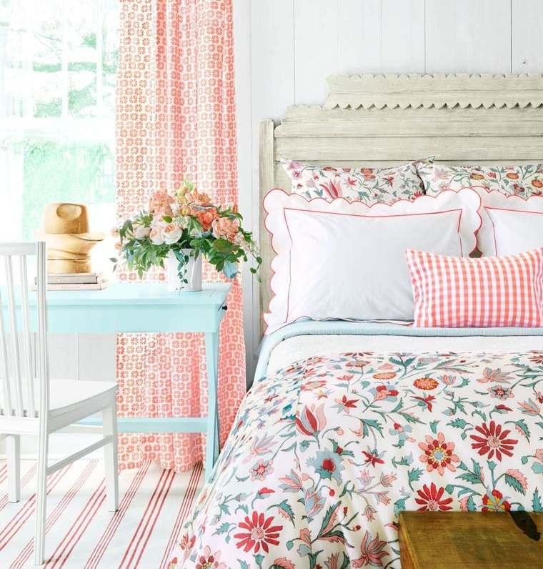 dormitorios con flores frecas primavera