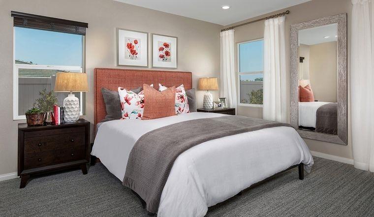 dormitorios con motivos primavera