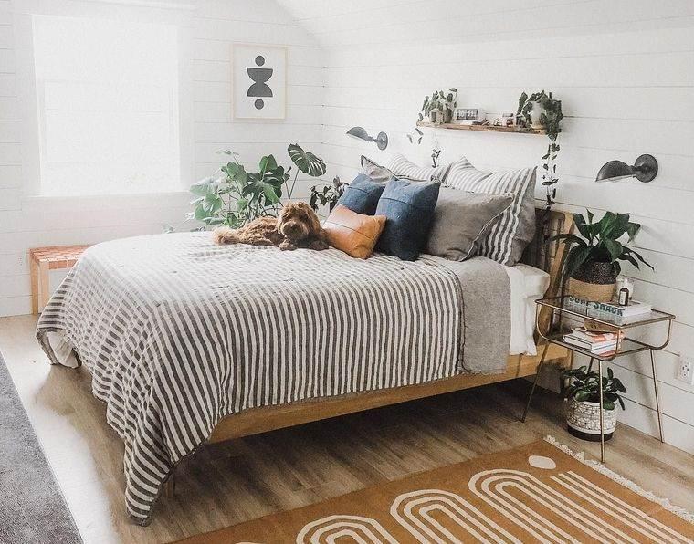 dormitorios con plantas