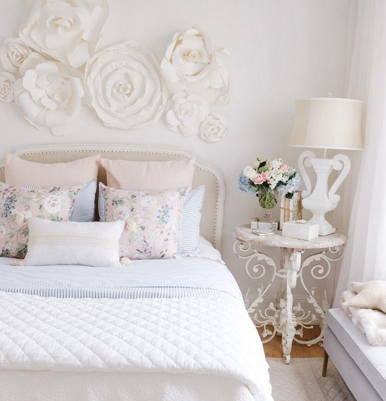 dormitorios elegantes en primavera