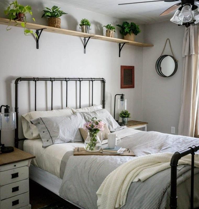 dormitorios plantas en repisa
