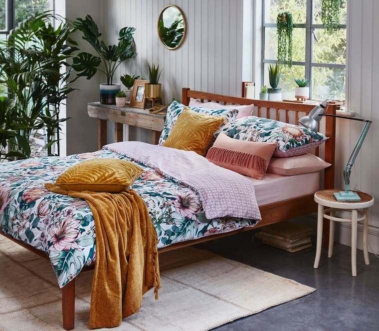 dormitorios plantas tropicales