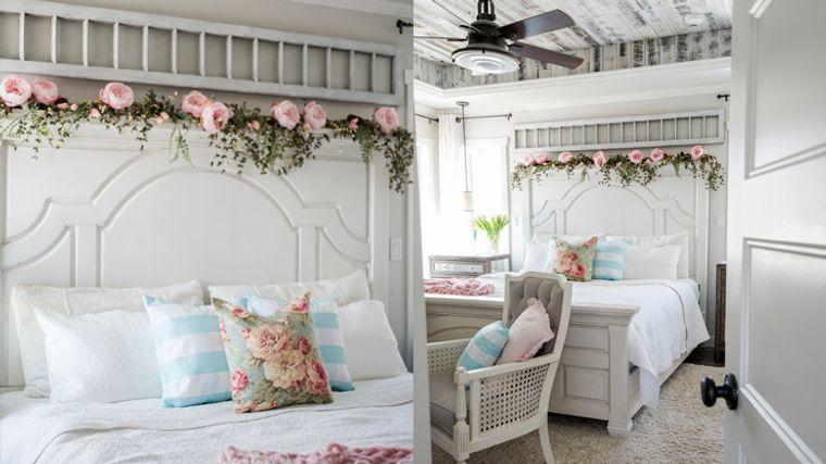 dormitorios primavera romantica