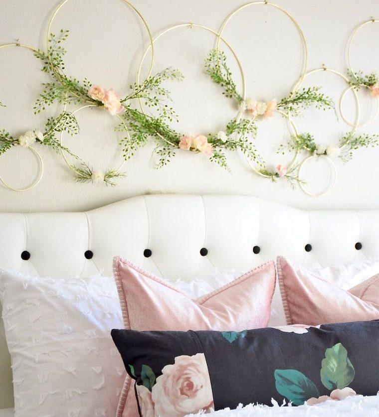 dormitorios sencilla decoracion primaveral