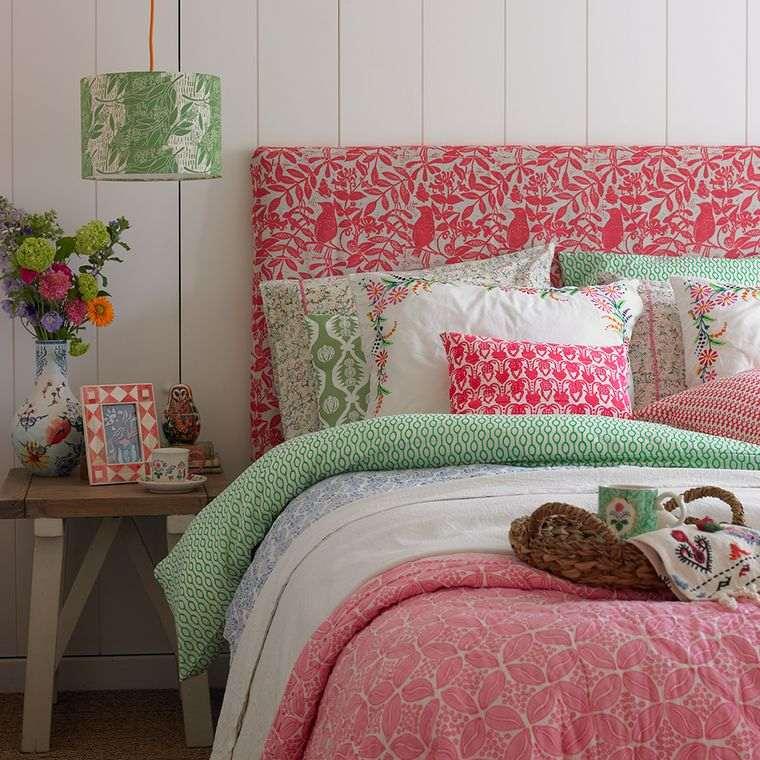 dormitorios textiles combinados primavera