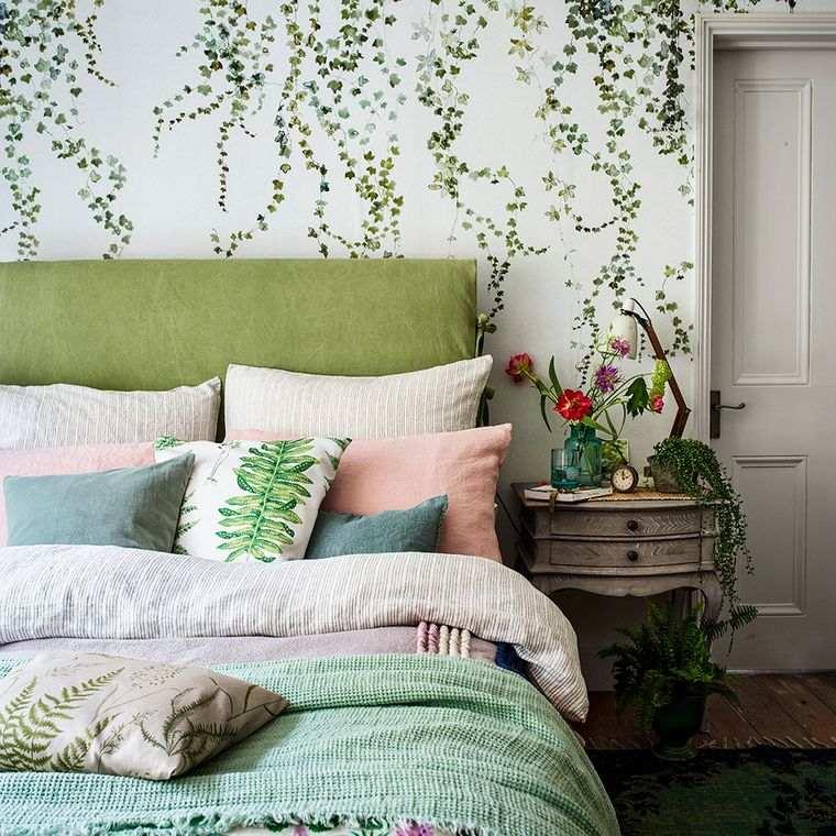 dormitorios textiles primavera