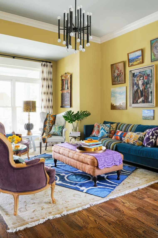 estilo-eclectico-interior-opciones-pared
