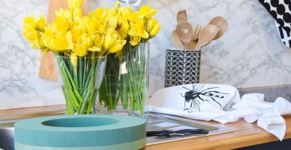ideas para decorar con narcisos