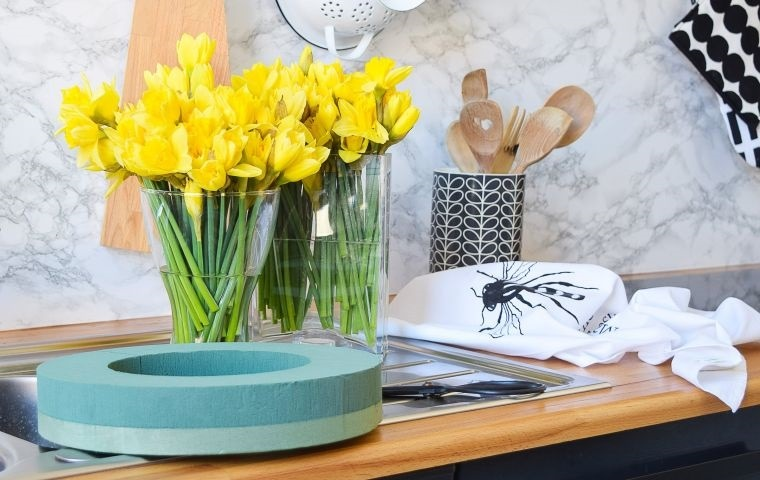 ideas para decorar con narcisos