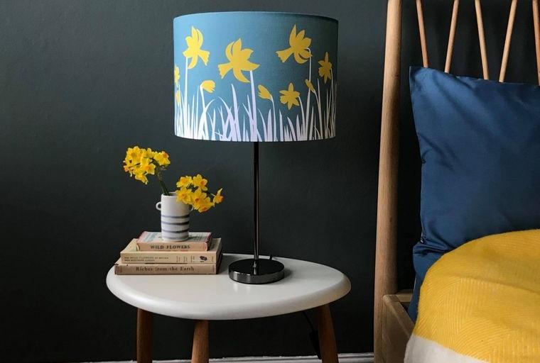 ideas para decorar dormitorio con narcisos