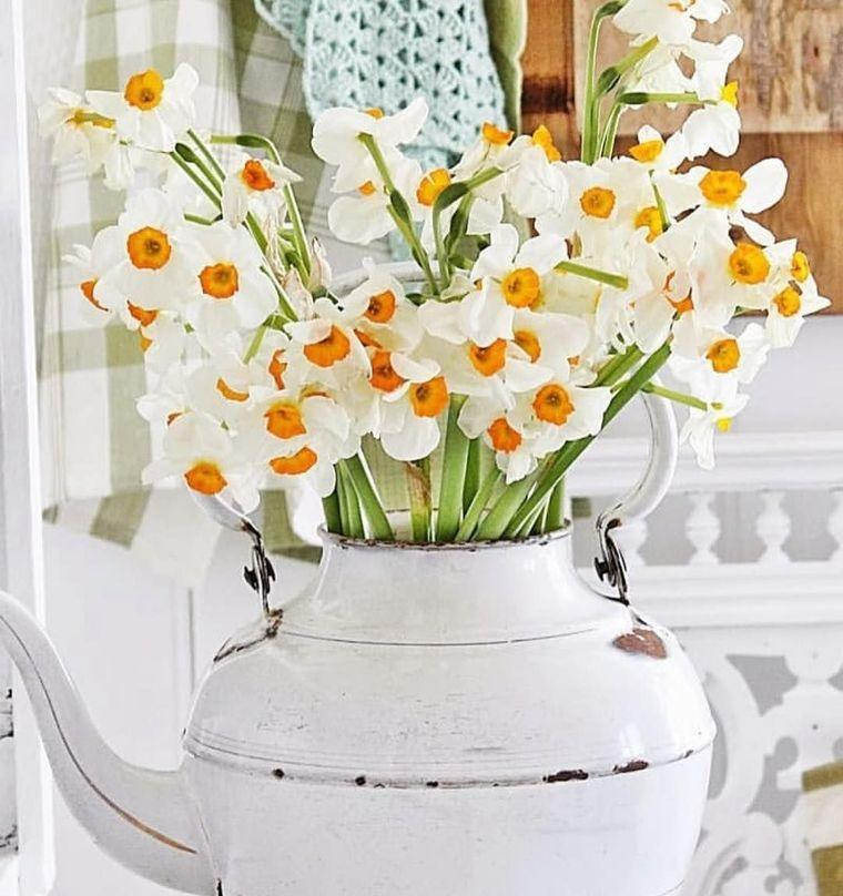 ideas para decorar hogar con narcisos