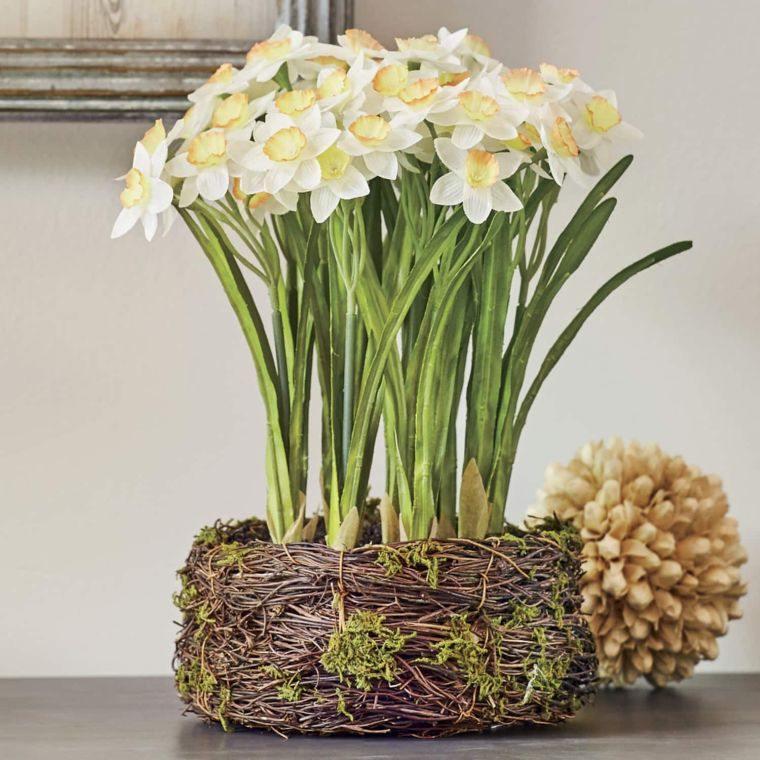 ideas para decorar narcisos primavera
