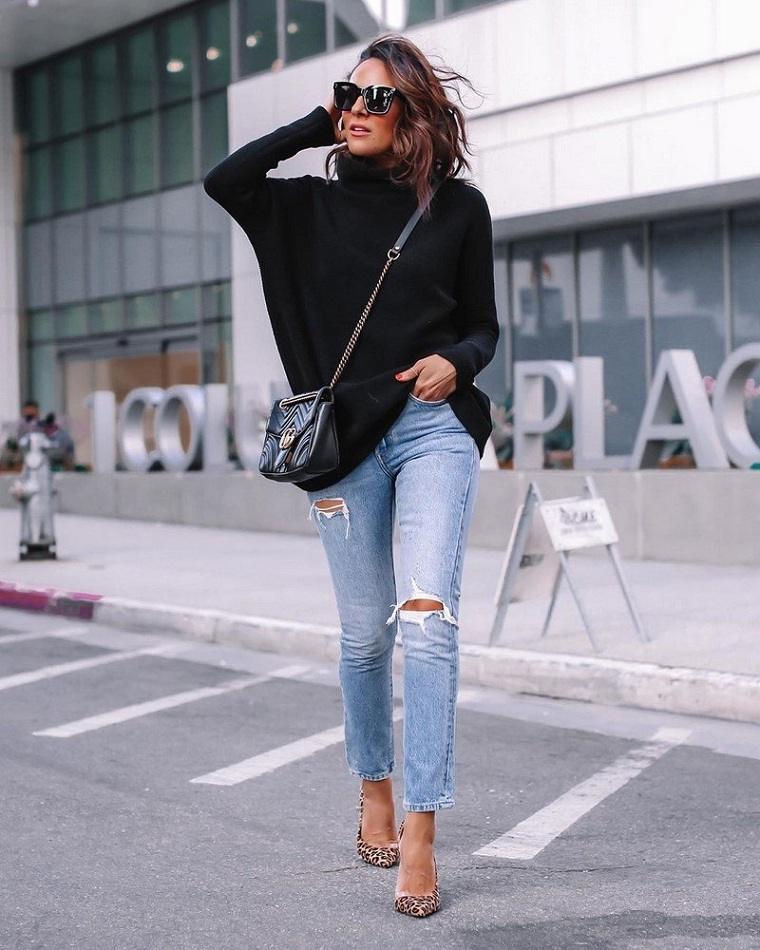 jersey-negro-vaqueros-ideas