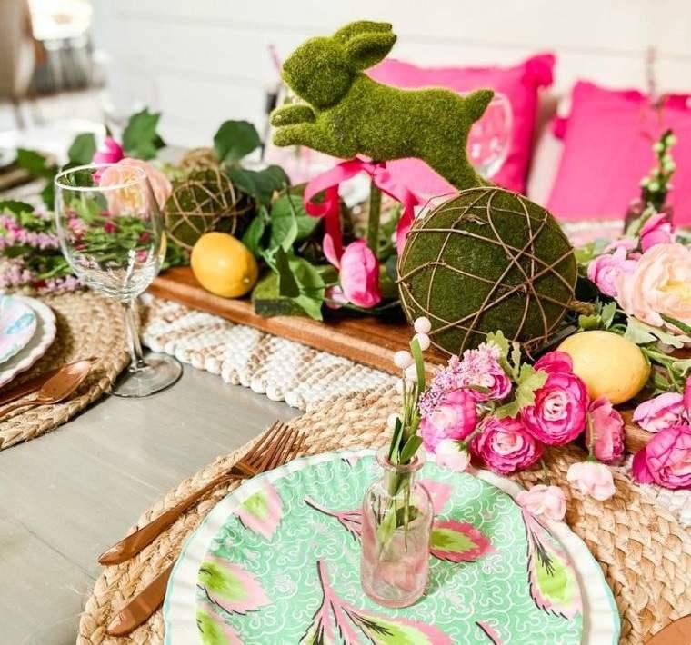 musgo para decorar centro de mesa