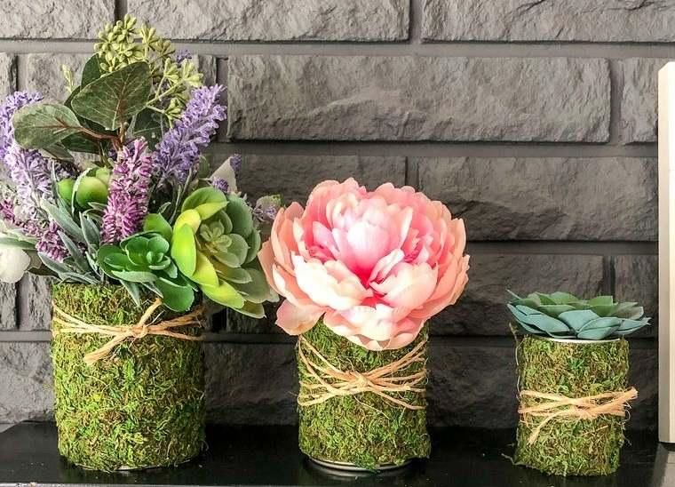 musgo para decorar hogar bricolaje