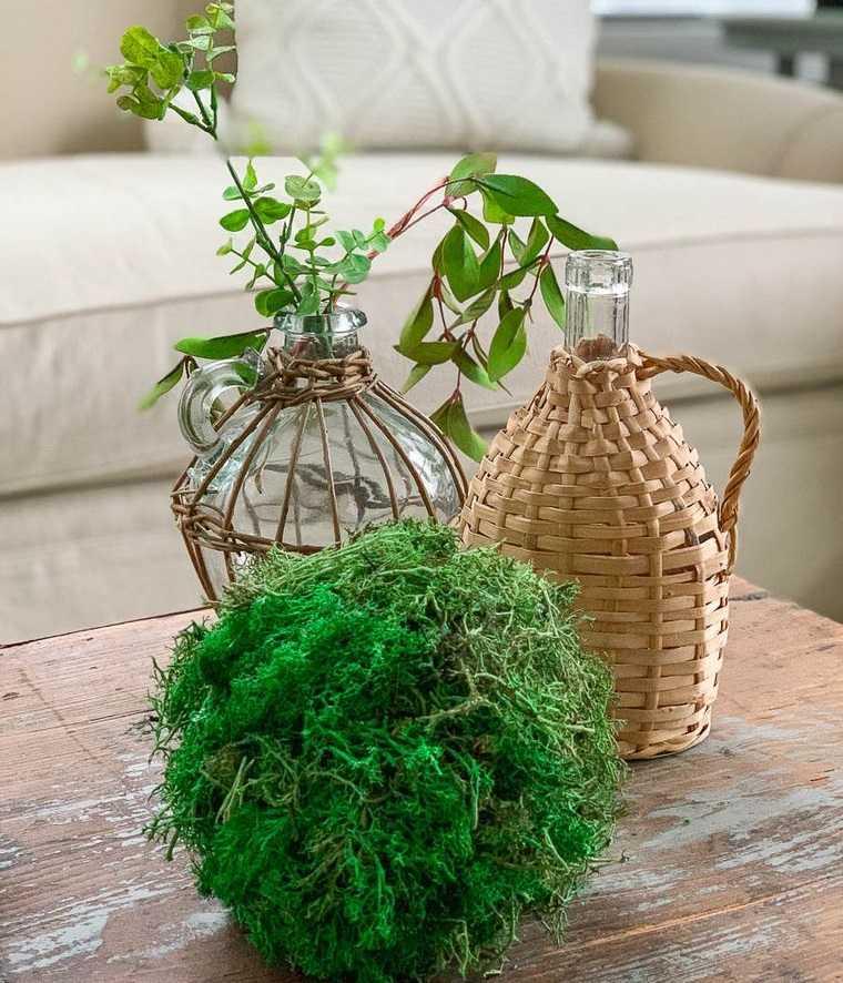 musgo para decorar hogar primaveral