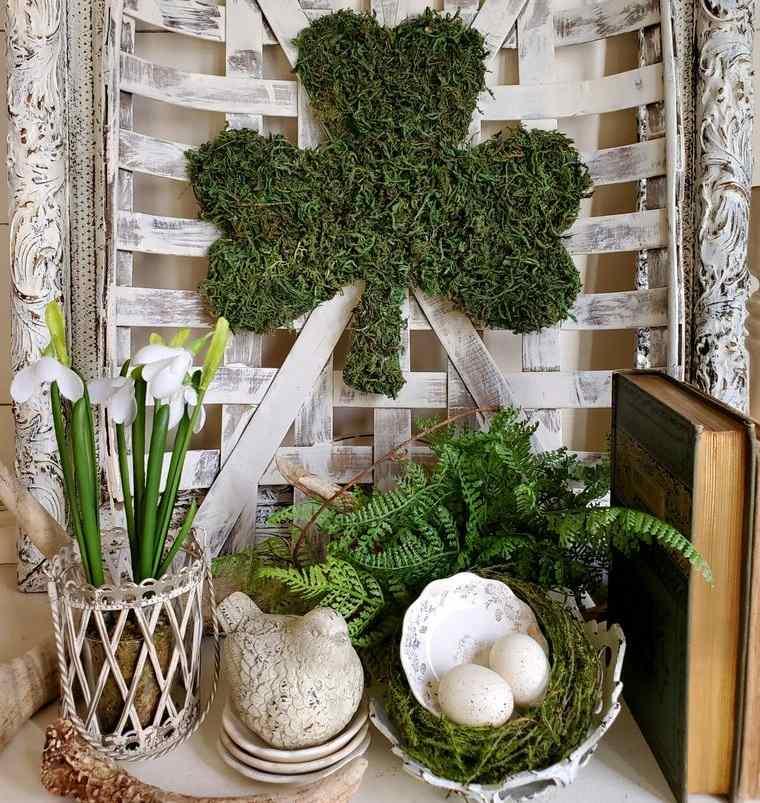 musgo para decorar trebol