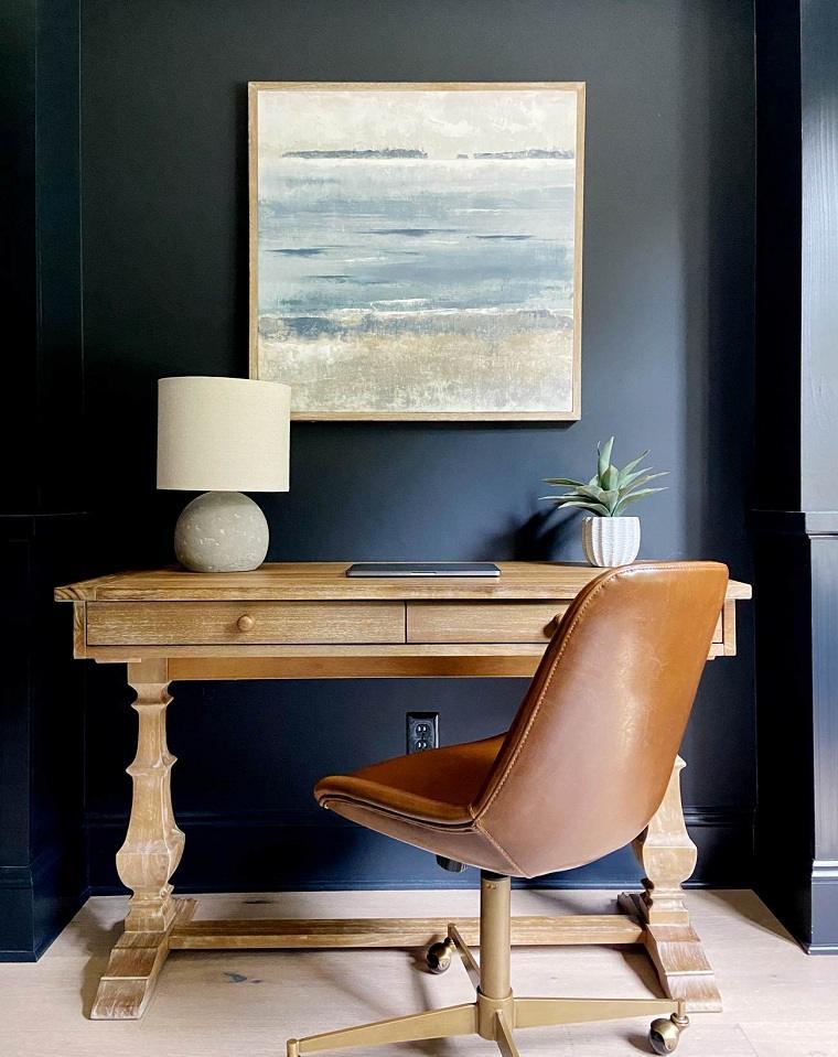 oficina-casa-pared-negra-ideas