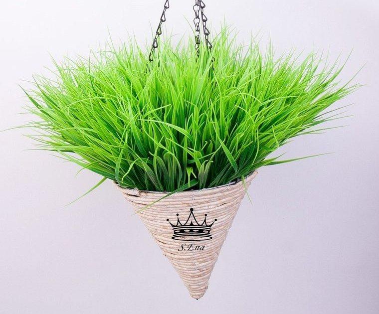 pasto de trigo colgante decoracion hogar