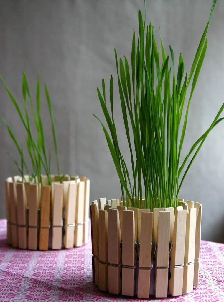 pasto de trigo decoracion bricolaje