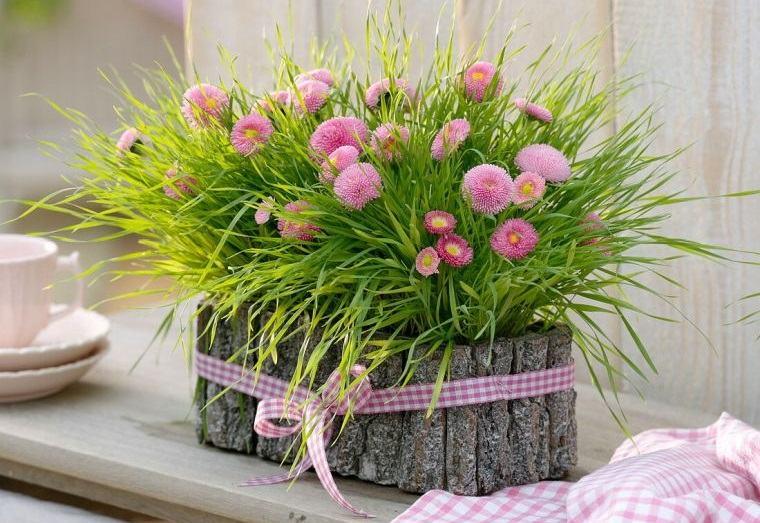 pasto de trigo decoracion exterior