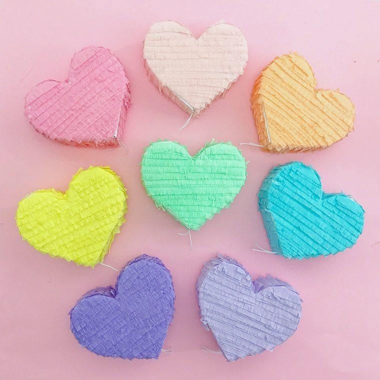 pinata-corazones-opciones-san-valentin