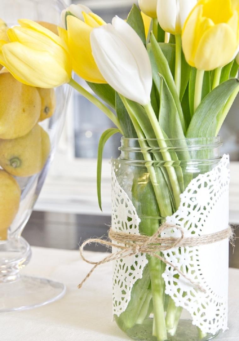primavera 2021-bellas-flores-tulipanes amarillos