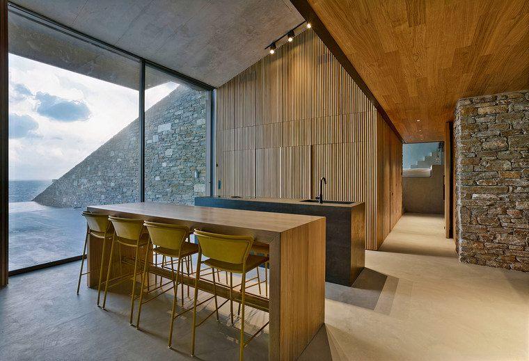 proyecto arquitectónico amplio interior ncaved