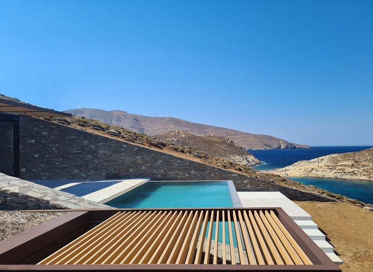 proyecto arquitectónico piscina casa ncaved