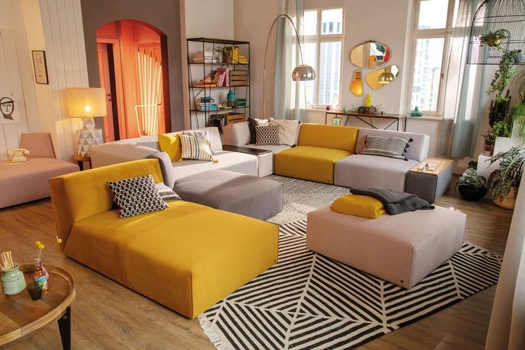 salon-elementos-muebles-modernos