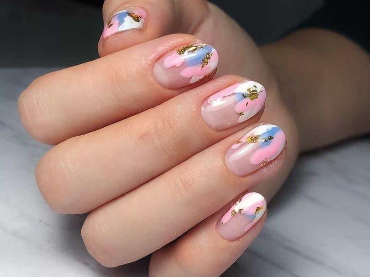 uñas decoradas con arte