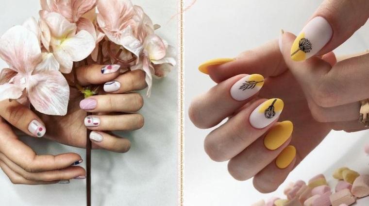 uñas decoradas para primavera
