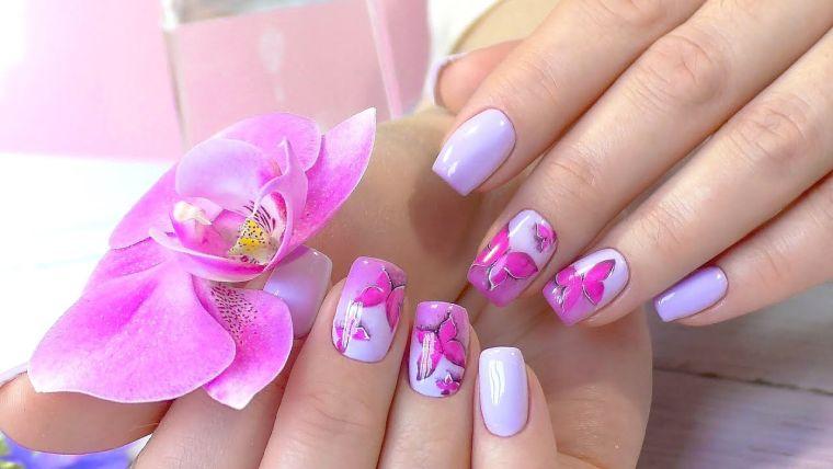 uñas decoradas primavera