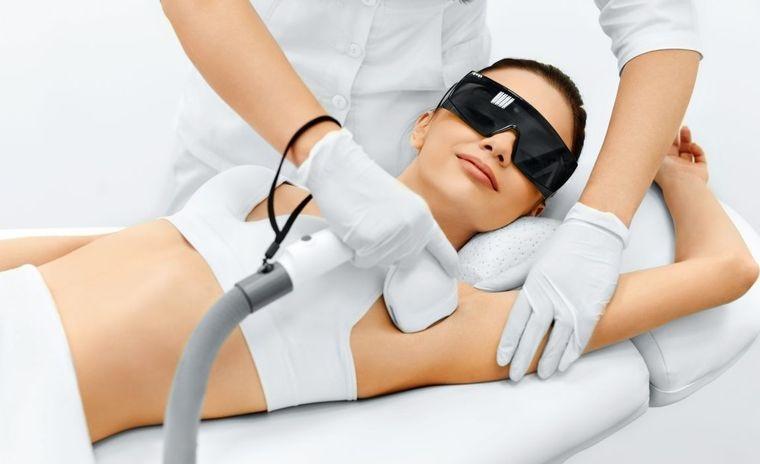 vello corporal depilacion laser axilas