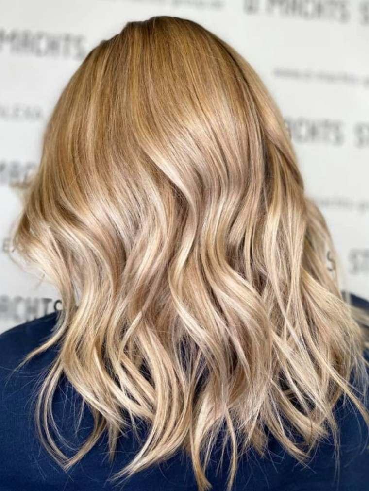 Colores de cabello natural-balayage-rubio