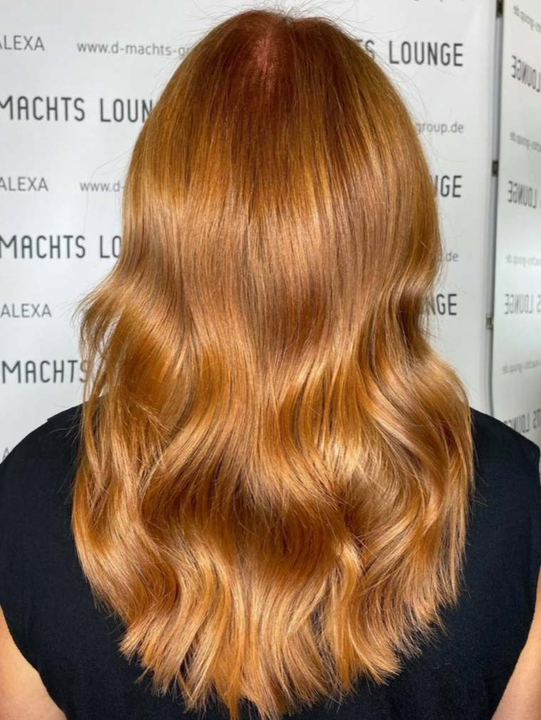 Colores de cabello natural-estilo-original
