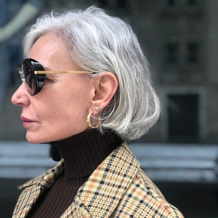 Cortes de pelo para mujeres de 50 años-moda