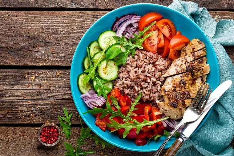 alimentación y nutrición bajas calorias