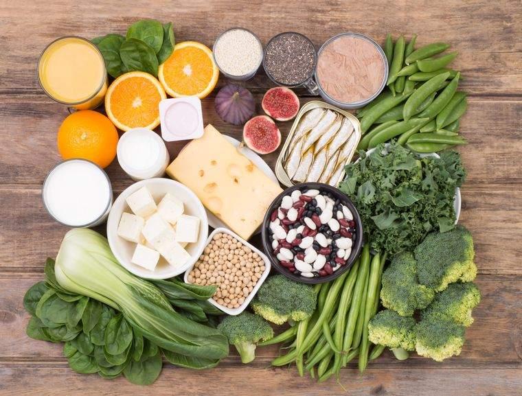 alimentación y nutrición calcio
