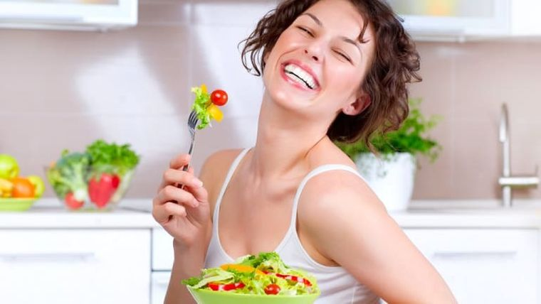 alimentación y nutrición mujer salud