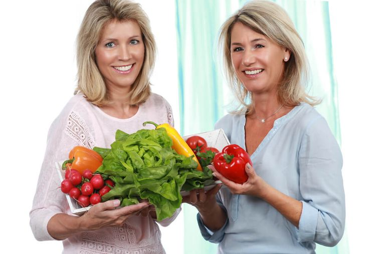alimentación y nutrición mujeres 50