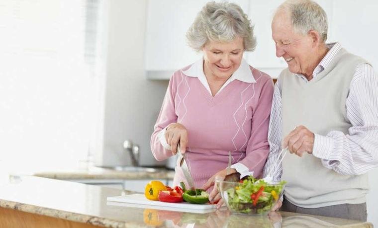 alimentación y nutrición para mujeres mayores