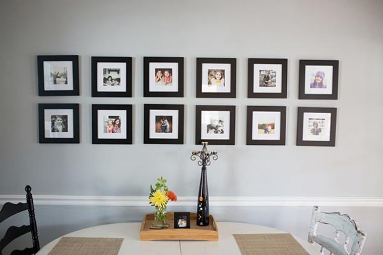 cocinas rústicas decoracion pared fotos