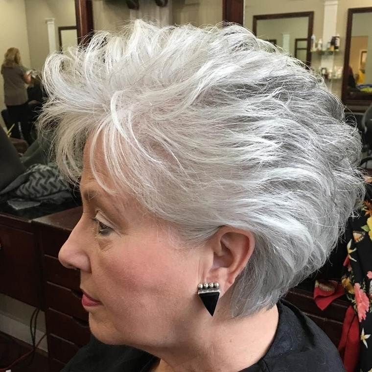 color-gris-cabello-ideas