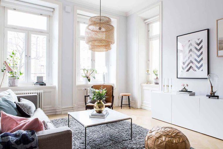 estilo escandinavo comodidad