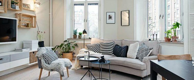 estilo escandinavo espacios iluminados