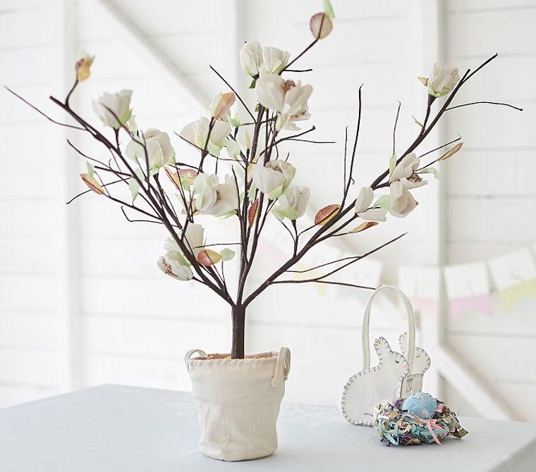 estilo escandinavo flores