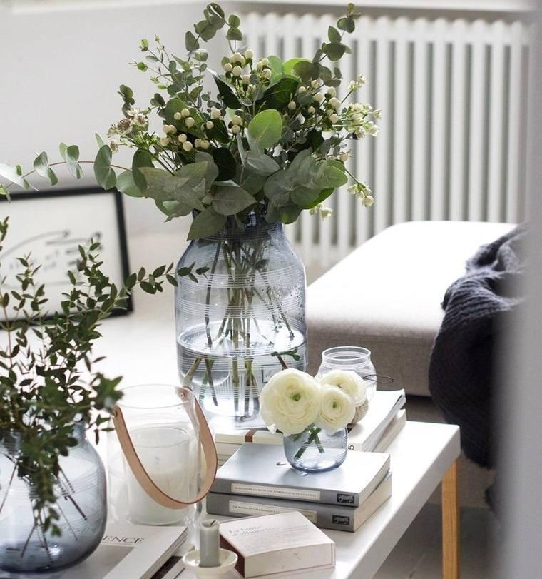 estilo escandinavo frascos vidrio decoracion