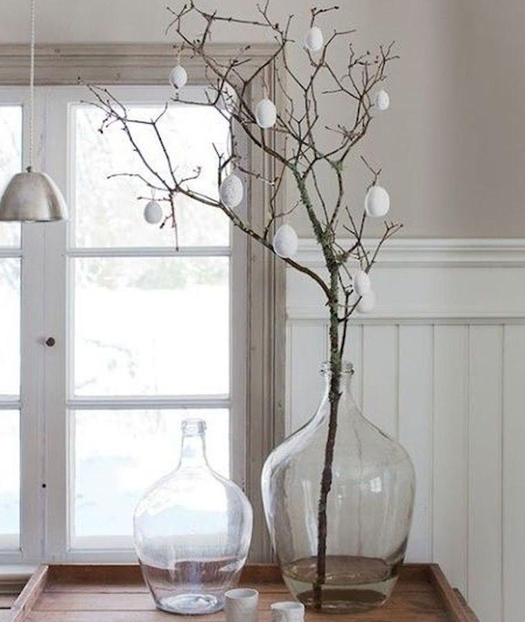 estilo escandinavo ramas primavera